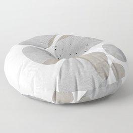 Abstract Desert Stones Floor Pillow