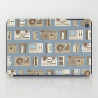 technology iPad Cases featuring Obsolete Technology by Daniel long Illustration