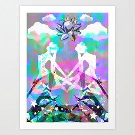 Sailor Paradise Art Print