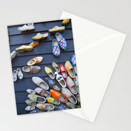 Wodden shoes Stationery Cards