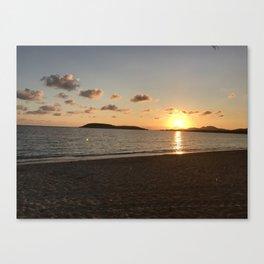 Sunset in Esperanza Canvas Print