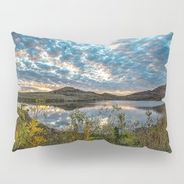 Wichitas Wonder - Fall Colors and Big Sky in Oklahoma Pillow Sham