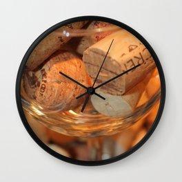Glass Half Full Wall Clock
