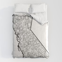 California - Can Tips Comforters