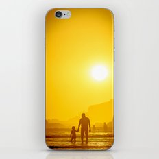 The first time he saw the ocean iPhone & iPod Skin