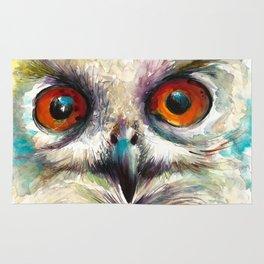 OWL EYE Watercolor Rug