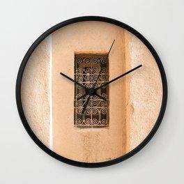 Windows - Sahara Desert, Morocco Wall Clock