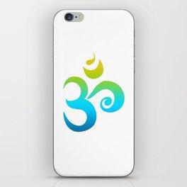Om Symbol iPhone Skin