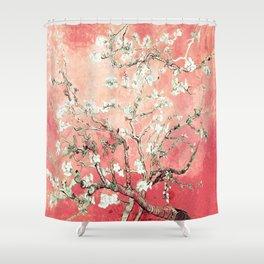 Van Gogh Almond Blossoms : Peach Shower Curtain