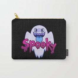 Spooky Ghost (Blue) Carry-All Pouch