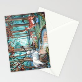 The White Stag Stationery Cards