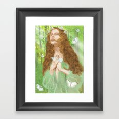 Rapture (Nymph) Framed Art Print