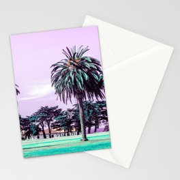 Three palm trees. Stationery Cards