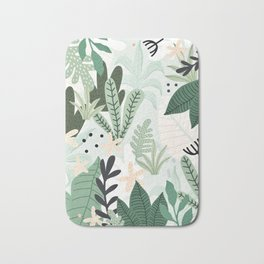 Into the jungle II Bath Mat