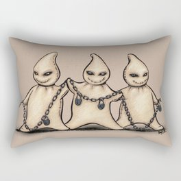 Halloween Ghosties Rectangular Pillow