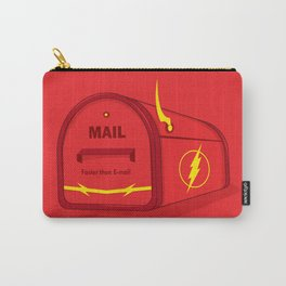 Faster than E-mail Carry-All Pouch