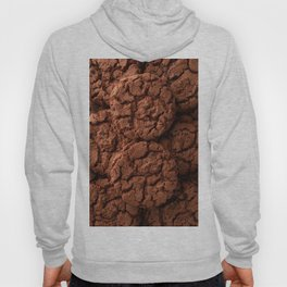 Group of dark chocolate cookies Hoody
