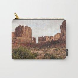 Desert Red Utah Rocks Carry-All Pouch