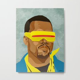 Chicago's Hip Hop Hero Metal Print
