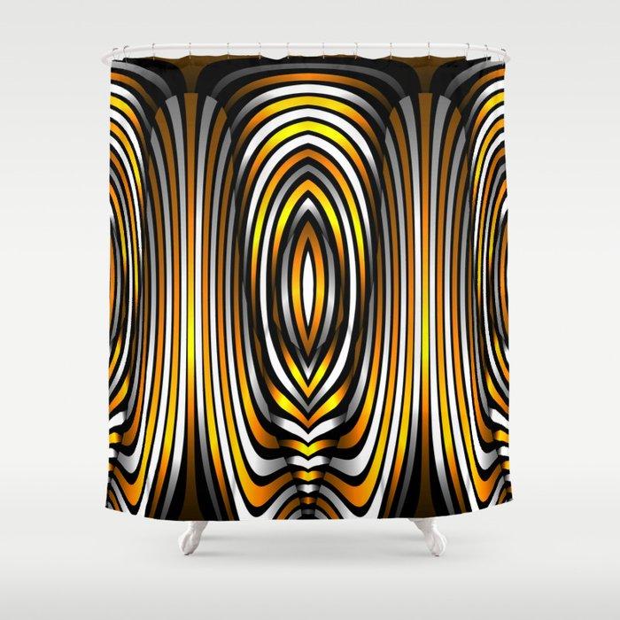 Fringe, 2360h98 Shower Curtain