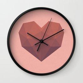 Gradient Love Wall Clock