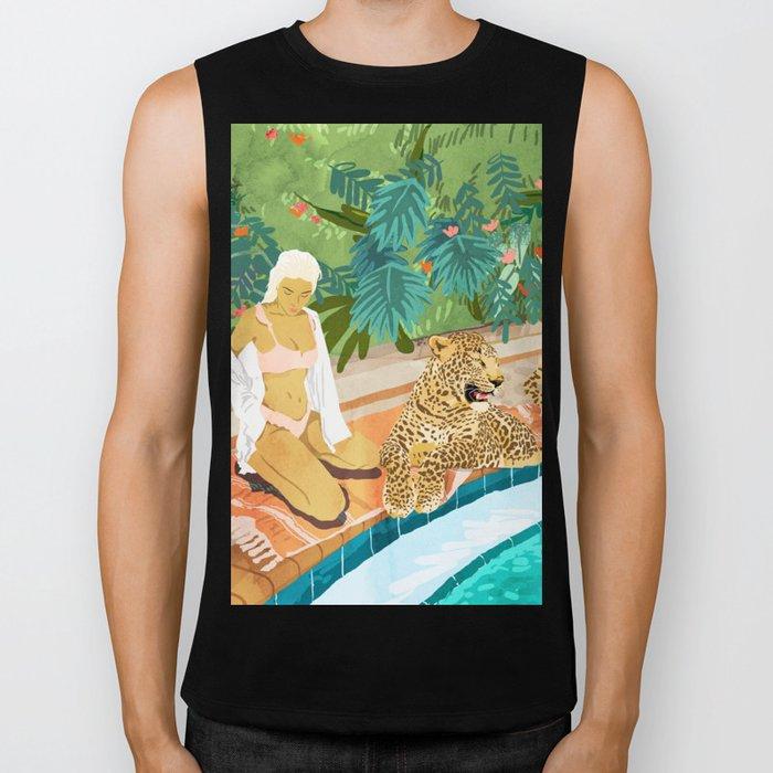The Wild Side #illustration #painting Biker Tank