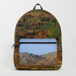 Glenfinnan Autumn Colors in Scotland Backpack