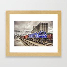 Rijeka Freight  Framed Art Print