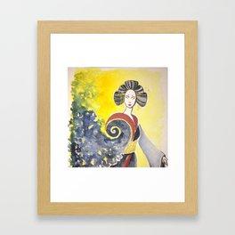 Asian Water Spirit Framed Art Print