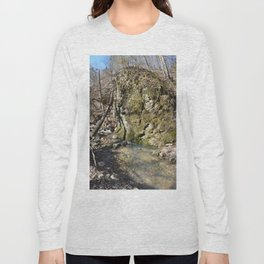 Alone in Secret Hollow with the Caves, Cascades, and Critters, No. 11 of 21 Long Sleeve T-shirt