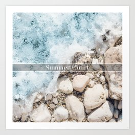Summer Court Art Print
