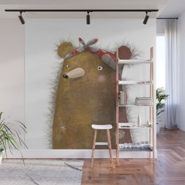 BEAR WITH ME | GLADYS | WHIMSICAL Wall Mural