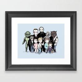 Monster Squad Framed Art Print