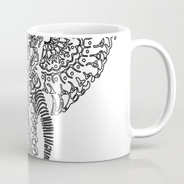 The Elephant Mask Coffee Mug
