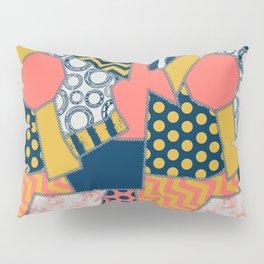 crazy quilt limited palette (all items) Pillow Sham