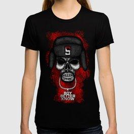 Skepta style Errorface skull T-shirt