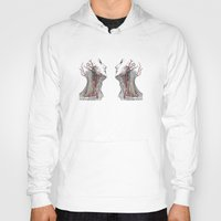 anatomy Hoodies featuring Dual anatomy by Antoine