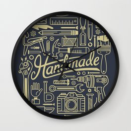 Make Handmade - Navy Wall Clock