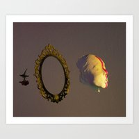 the cure Art Prints featuring the cure by Denisse Baca