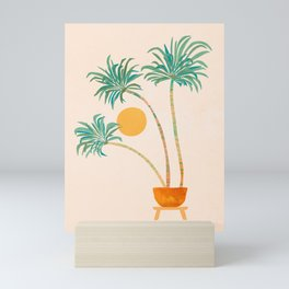 SoCal Palms / Tropical Illustration Mini Art Print