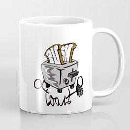 Push Toast Coffee Mug