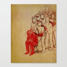 Dear Parents At Sandy Hook Canvas Print