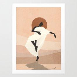 Dance 4 Art Print