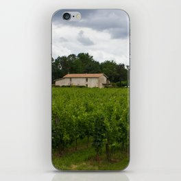 vineyards iPhone Skin