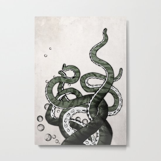 Octopus Tentacles Metal Print