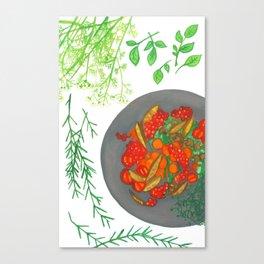 Simple Taste Canvas Print