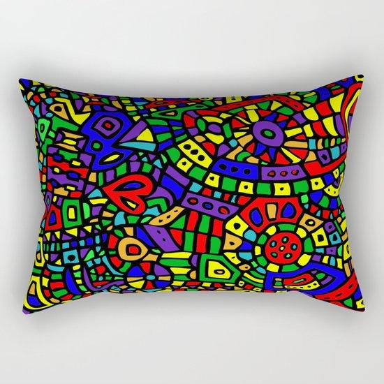 Abstract #452 Rectangular Pillow