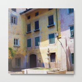 Egna, South Tryol, Italy Metal Print