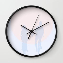 Love is in the air Wall Clock