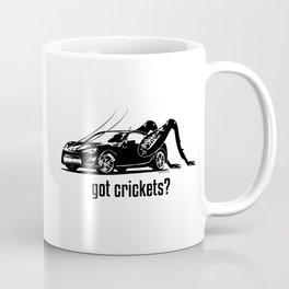 Got Crickets? ~Black~ Coffee Mug